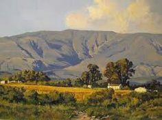 South African Art, Landscape Paintings, Landscape, Landscape Drawings