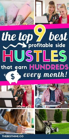 FREE TRANING Is making a little extra money at the top of your financial priority list? Here are the BEST 9 side hustles that generate hundreds every month. Make Money Fast, Ways To Save Money, Make Money From Home, Money Saving Tips, Money Hacks, Earn Extra Cash, Making Extra Cash, Extra Money, Work From Home Moms