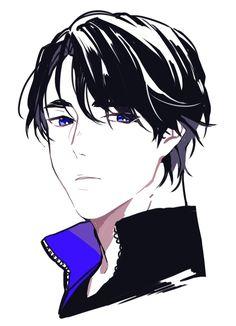 Seung-gil Lee/ Yuri on ice Anime Manga, Anime Guys, Anime Art, Yuri On Ice, Character Inspiration, Character Design, Really Cool Drawings, Katsuki Yuri, ユーリ!!! On Ice