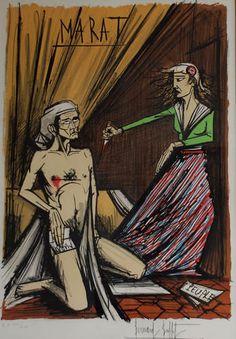 Google Image Result for http://www.artbrokerage.com/artthumb/buffetbernard_41829_2/850x600/Bernard_Buffet_Marat.jpg