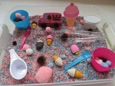 Ice Cream Sensory Box via Etsy