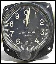 Italian Salmoiraghi  Altimetro