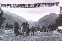 100th Anniversary of Rocky Mountain National Park in 2015 . . . www.stayingrandlake.com  #grandlake  #colorado  #RMNP  #RockyMountainNationalPark