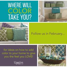 We want your color to take you somewhere with Signature Homestyles.  Where do you want your color to take you?