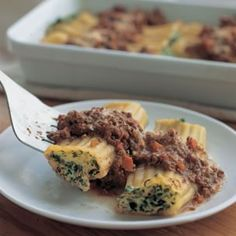 Stuffed Cannelloni with Bolognese | Williams-Sonoma