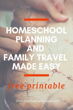 Everything You Need To Create Your Learn On Location Homeschool Plan. - Homeschooling, Ideas, Educational Activities, Tips & Life Skills - Boss Club Travel With Kids, Family Travel, Homeschool Curriculum, Homeschooling, Budget Travel, Travel Tips, Life Skills, Textbook, Trip Planning