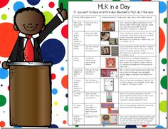 Martin Luther King, Jr. lesson plans!