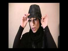Hijab with Fancy Hats Tutorial