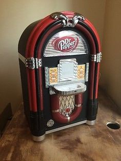 Dr. Pepper iJuke Juke Box - Includes AUX and iPhone 4 Charging Deck