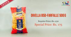 Shop Online for #Divella 85D - #Farfalle 500g @ Kiraanastore. Free Home Delivery!!