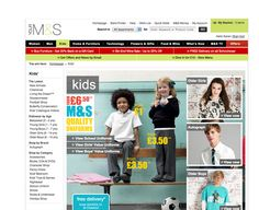 Marks & Spencer Back to School campaign