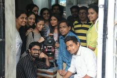 @Broadcast Equipment Supplier... With my Students of Mumbai University, Department of Communication and Journalism...
