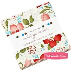 Vintage Modern Charm Pack Bonnie & Camille for Moda Fabrics; Happy Weekender quilt?
