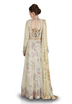 Cream Net Readymade Hand Embroidered Abaya Style Churidar Kameez Abaya Style, Abaya Fashion, Churidar, Cream, Shopping, Dresses, Creme Caramel, Vestidos, Dress
