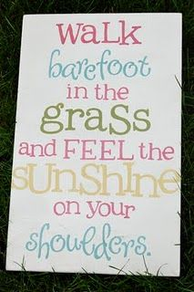 summer sign...change grass to sand for beach house