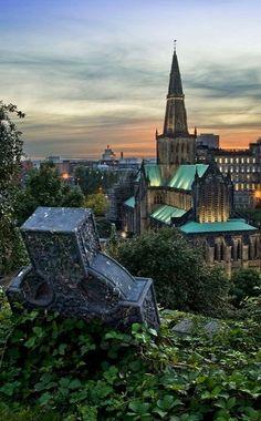 Glasgow Cathedral, Glasgow Scotland