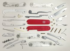 Canadian photographer Todd McLellan dissects 50 design classics, including a Swiss Army knife and the original Mac, in this unique photographic vision of the material world called Things Come Apart.