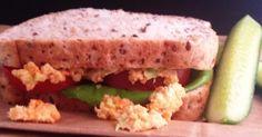 Recipe Chickpea Salad Sandwich by Nat Louise - Recipe of category Basics Chickpea Salad Sandwich, Carrots, Sandwiches, Vegan, Recipes, Food, Thermomix, Essen, Eten