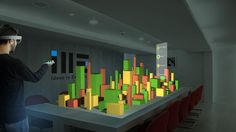 Easily read and interpret abundance of data with multiple parameters in one view Augmented Reality, Virtual Reality, 3d Data Visualization, Abundance, Innovation