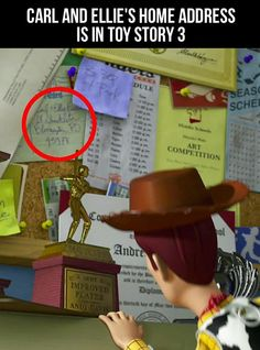 Pixar is full of surprises....now I will go stalk them