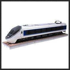 Nakasendo 371 Train Free Paper Model Download
