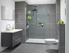 modern zwart witte badkame - Google zoeken