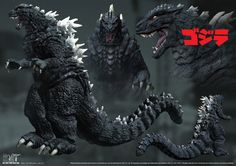 Godzilla (GxU) ZBrush/Photoshop This is a slightly retouched digital sculpture used for the GxU poster