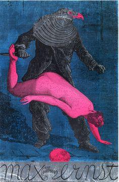 By Martin Sharp, 'Max the Birdman Ernst' Poster.