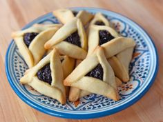 Buttery Hamantaschen - Easy Dairy Hamantaschen Recipe