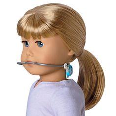 Braces and headgear for American Girl Dolls! (No need if they had braces! American Girl Doll Names, My American Girl, Dental Facts, Dental Humor, Celebrities With Braces, Orthodontic Humor, Teeth Straightening, Brace Face, Dental Kids