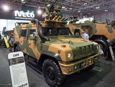 Iveco LMV protected light vehicle