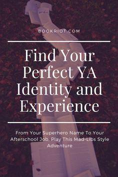 Find your YA superhe