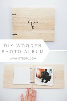 Diy wooden photo album happy saturday album and creative diy wooden photo album solutioingenieria Images