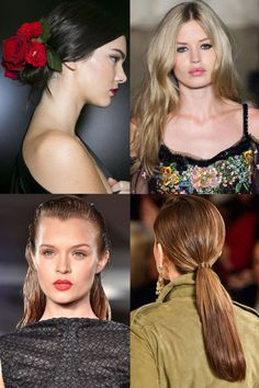 The Best Hair Trends For Spring 2015  - Style your hair like a star! Visit www.cmstyle.com.