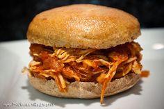 Guilt-Free BBQ Chicken Sandwiches | One Sweet Heat (Homemade BBQ Sauce!)