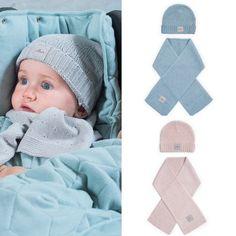 soft knit sjaal & muts