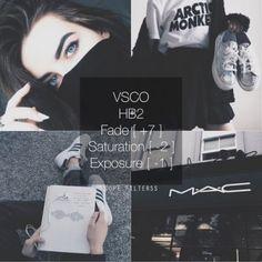 แต่งภาพแอพ VSCO Cam ด้วย VSCO Cam filter โทน darker brighter Noise - VSCO Cam…