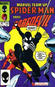 Marvel Team Up #141 - Spider-Man and Daredevil