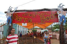 """Diante da potencialidade natural do município de Barra de São Miguel -PB para desenvolver, a """"Festa do Barrabode"""", idealizada para enaltecer o Bode como ..."""