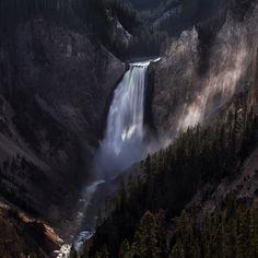 Lower Yellowstone Falls by yvette depaepe, via 500px