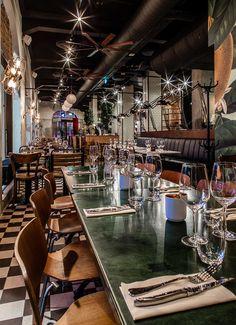 Amerigo (Oslo, Norway), Europe Restaurant | Restaurant & Bar Design Awards