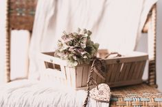 hydrangea in a basket by odile lm