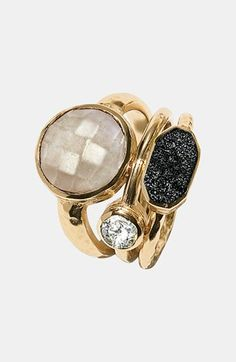 Melinda Maria 'Mosaics - Courtney' Stack Ring | Nordstrom