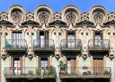 Casa Hermenegild Blay  1903  Architect: Josep Pérez i Terraza