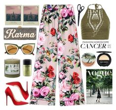 """July 1st: my bday, my fashion horoscope!"" by karineminzonwilson on Polyvore featuring Dolce&Gabbana, Edie Parker, Jimmy Choo, MAC Cosmetics, Fendi, Dr.Hauschka, New Look, Urban Decay, cancer and fashionhoroscope"