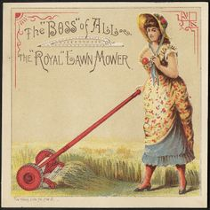 The 'Boss' of all, the 'Royal' lawn mower (front) | Flickr - Photo Sharing!