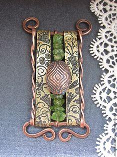 Изготовление фурнитуры для украшений своими руками: травление меди и латуни - Ярмарка Мастеров - ручная работа, handmade