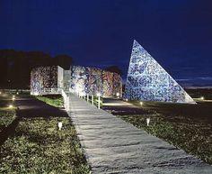 Carl-Henning Pedersen & Else Alfelt Museum, Herning, Denmark. CF Møller Architects. #allgoodthings #danish #architecture spotted by @missdesignsays