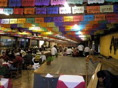Restaurante Arroyo  is the world's largest single Mexican restaurant, located in the Tlalpan area of Mexico City.