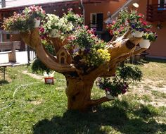 Rustic Flower Support